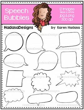 Karen's Speech Bubbles FREEBIE