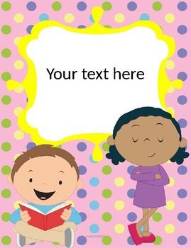 kari bolt binder covers only text editable by educative teaching ideas