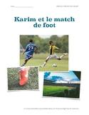 Karim et le match de foot