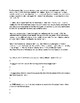 Karl Marx Biography Article and Assignment Worksheet