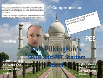 Karl Pilkington's SPAG and PEE Starter Pack
