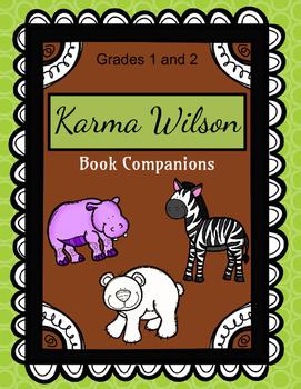 Karma Wilson Book Companions: 30+ Response Sheets