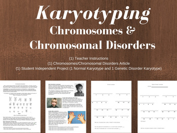 Chromosomes and Disorders Activity and Reading