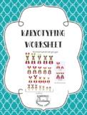 Karyotyping Worksheet
