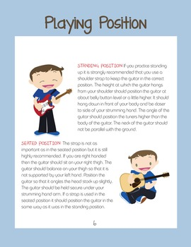 Group Guitar Class For Kids - Play Along Course - Learn To Read Music