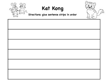 Kat Kong Sequencing Activity