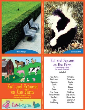 Kat and Squirrel on the Farm - NGSS Life Science and Engineering Unit Grade 1