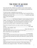 """Kate Chopin """"The Story of an Hour"""" Worksheet for Modifiers and Context Clues"""