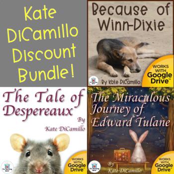 Kate DiCamillo Novel Study Unit Bundle
