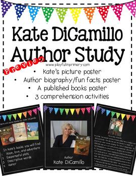Kate DiCamillo Author Study