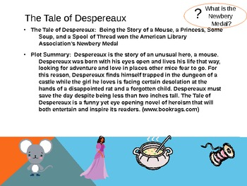 Kate DiCamillo Author Study PowerPoint Great Read Aloud Introduction