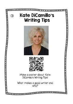Kate DiCamillo Author Study using QR codes