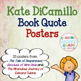 Kate DiCamillo Book Quote Posters