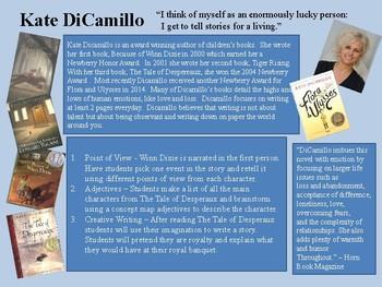 Kate DiCamillo Book Talk Slide