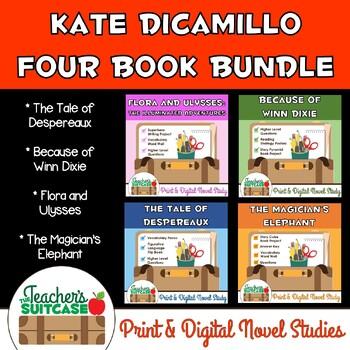 Kate DiCamillo Bundle {Four Novel Studies}
