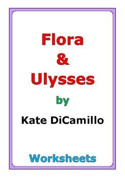 """Kate DiCamillo """"Flora & Ulysses"""" worksheets"""