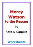 """Kate DiCamillo """"Mercy Watson to the Rescue"""" worksheets"""