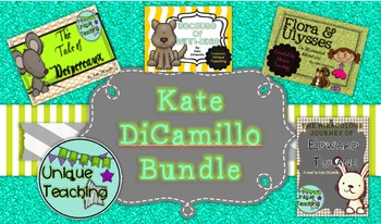 Kate DiCamillo Novel Study - Bundle