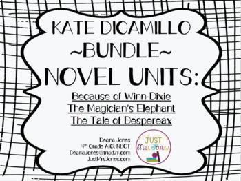 Kate DiCamillo Novel Unit Bundle