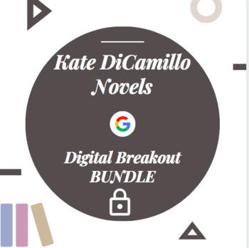 Kate DiCamillo Novels Digital Breakout Escape Room Bundle