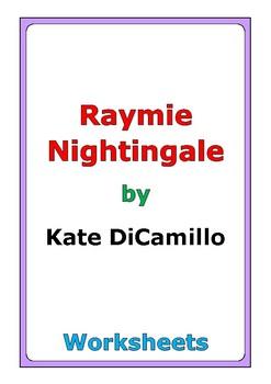 "Kate DiCamillo ""Raymie Nightingale"" worksheets"