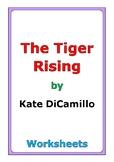 "Kate DiCamillo ""The Tiger Rising"" worksheets"
