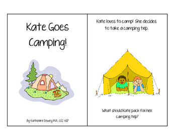 Kate Goes Camping