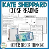 Kate Sheppard Reading Comprehension Passages Questions