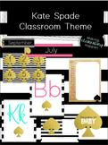 Kate Spade Classroom Theme
