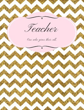 Kate Spade Inspired Binder Cover and Inserts