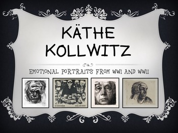 Kathe Kollwitz: Emotional Portraits from WWI and WWII