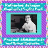Women's History Katherine Johnson  (Hidden Figures)  NASA   Project Pack