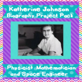 Women's History Katherine Johnson  (Hidden Figures)  NASA   Project Pack