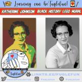 Katherine Johnson, NASA Mathematician, Black History Collaborative Lego Mural