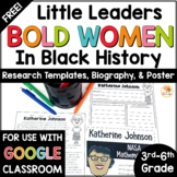 Katherine Johnson FREEBIE - Little Leaders: Bold Women in Black History
