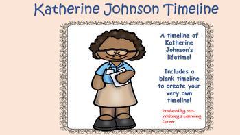 Katherine Johnson Timeline