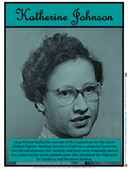 Katherine Johnson (Women in Science #9)