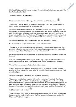 Katherine Mansfield THE FLY Short Story and Worksheets