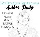 Katherine Paterson Author Study, Bridge to Terabithia Auth