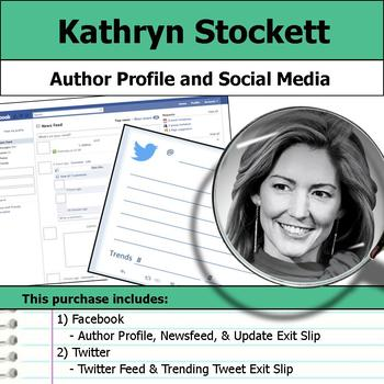 Kathryn Stockett - Author Study - Profile and Social Media