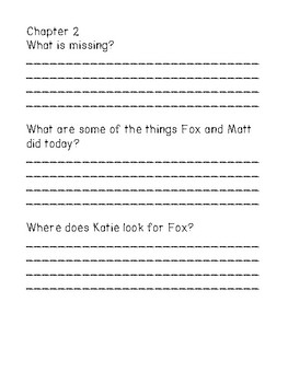 Katie Fry Private Eye and the Missing Fox