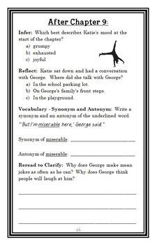 Katie Kazoo, Switcheroo: Anyone But Me (Nancy Krulik) Novel Study (22 pages)