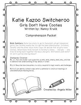 Katie Kazoo Switcheroo Girls Don't Have Cooties