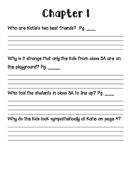 Katie Kazoo Switcheroo- No Messin with My Lesson Novel Study