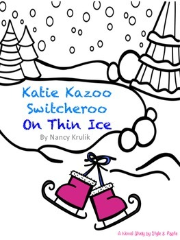 Katie Kazzo Switcheroo On Thin Ice Book Club