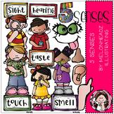 5 senses clip art - Melonheadz clipart
