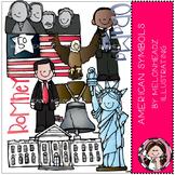 American Symbols clip art - COMBO PACK- by Melonheadz