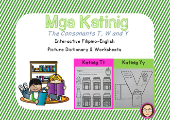 Filipino-English Consonant T, W at Y (The Consonants T, W,Y)