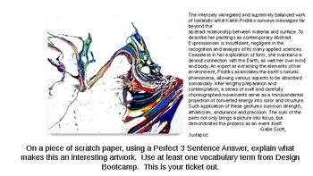 Katrin Fridriks-Visual Art Vocabulary