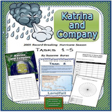 Hurricanes, Fractions to Percents, Statistics, Graphing: Katrina & Co. Tasks 1-5